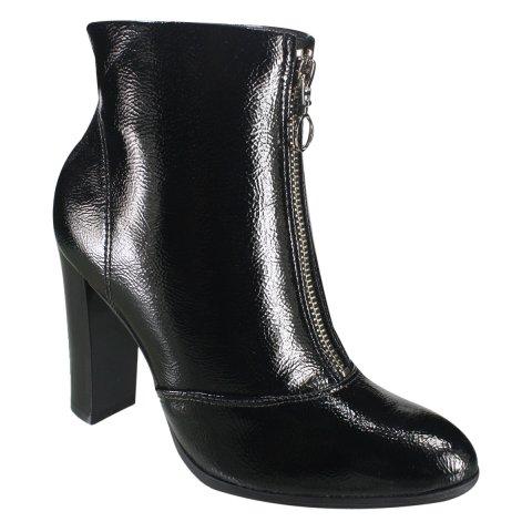 45654c7befd Bota Ankle Boot Ramarim 18-56102 000001 - Preto (Verniz Show Plus ...