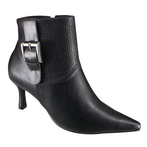8e91426281e6 Bota Ankle Boot Ramarim 18-90104 000003 Preto (Naturale Plus NatuTrama)