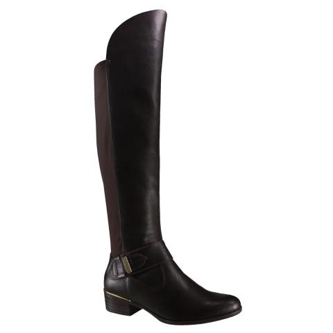 0e7fff0082 Bota Cano Alto Comfortflex Com Stretch 16-69305 - Café (Vest  Vegetal Neoprene) - Calçados Online Sandálias