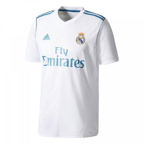 df0f591b44a77 Camiseta Adidas Real Madrid I AZ8059 - Branco - Calçados Online Sandálias