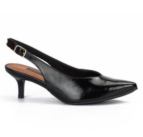 2fbcbb1c3 Sapato Chanel Dakota Salto Baixo B9711 0002 - Preto (Follow ...
