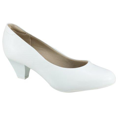6912c8701 Sapato Feminino Modare Ultra Conforto 7005.600 5536 16072 - Branco (Napa  Sense Flex) - Calçados Online Sandálias