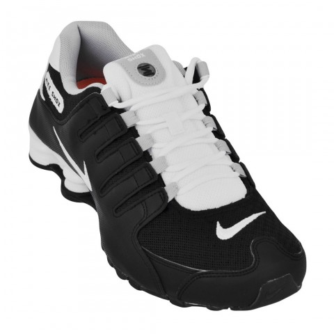 87eb3cab4a2 Tênis Masculino Nike Shox NZ SE 833579-002 - Preto Branco - Calçados Online  Sandálias