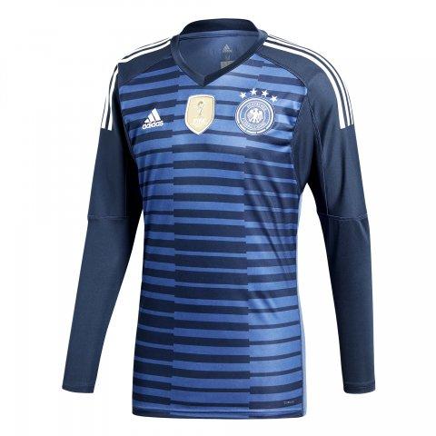 Camisa de Goleiro Adidas Alemanha 2018 BR7831 - Azul - Calçados ... e3a81ef27b26d