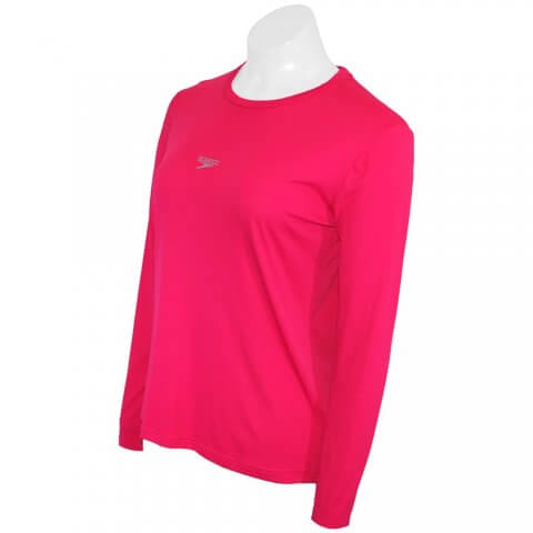 Camiseta Feminina Manga Longa Speedo Protection UV