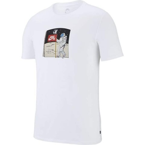 7ce8ffce84 Camiseta Masculina Nike SB AA8081-100 - Branco - Calçados Online ...