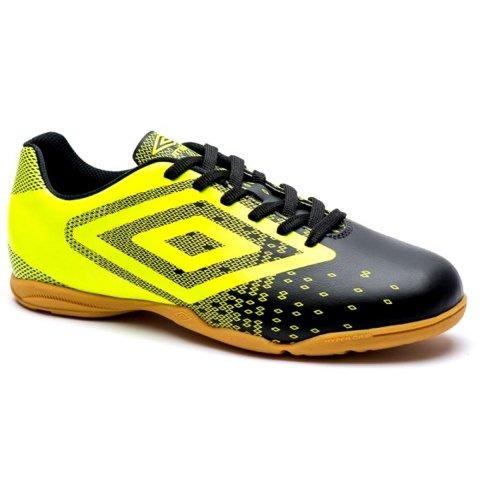 ab44c1d352 Indoor Futsal Umbro Flux 0F72083-166 - Preto Lima - Calçados Online ...