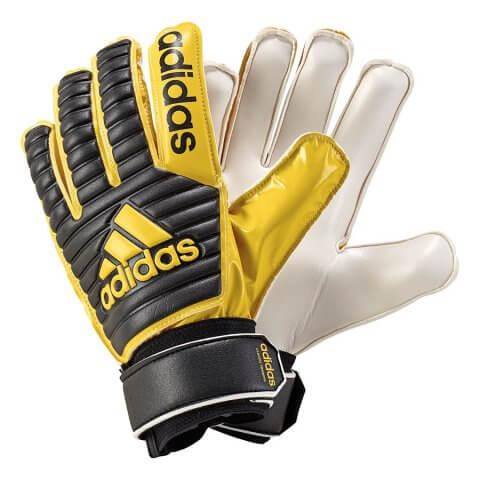 Luva Adidas Classic Training BS1544 - Preto Amarelo - Calçados ... 37bf3ac2d38bf