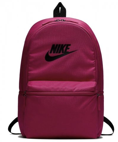 Mochila Nike Heritage Solid BA5749-666 - Pink Preto - Calçados ... 257a28375c8
