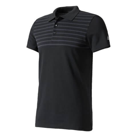 Polo Masculina Adidas Essentials Yarn-Dyed