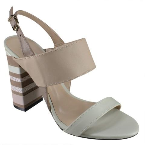 fc69ebf07 Sandália Feminina Werner 2287373 - Gelo/Olívia/Nude (Napa Modena) - Calçados  Online Sandálias, Sapatos e Botas Femininas | Katy.com.br