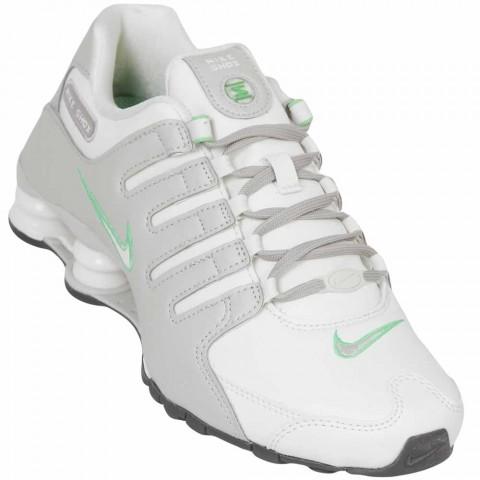 Tênis Feminino WMNS Nike Shox Nz 636088-002 - Gelo Verde - Calçados ... 4552a59f1ba6d