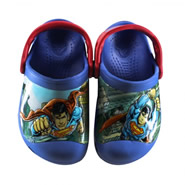 Imagem - Babucha Infantil Crocs Boys Creative Superman