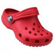 8b2a1fc9350 Babucha Infantil Crocs Kids Classic 10006-6EN Vermelho