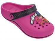 f43061a09b6 Babucha Infantil Grendene Love Ladybug 21693-20505 Rosa Preto