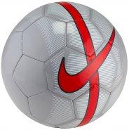 01d70bcf70 Bola Campo Nike Mercurial Fade SC3023-013 Cinza Vermelho