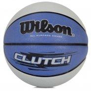 6d564db69b Bola de Basquete Wilson Clutch WTB1440XB02 Cinza Azul
