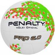 Bola de Vôlei Penalty Oficial Pró 6.0 521214 1790 Branco Laranja Verde 82e09839e676d