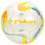 Bola Futsal Poker Cristal Element II Pro 05730 Branco Laranja 39526f751a1fb