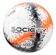 9b7abc7ff Bola Society Penalty RX R3 Fusion VIII 520340-1710 Branco Laranja Preto