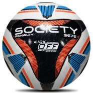 Bola Society Penalty Sete R1 Kick Off IX 541541-1140 Branco/Preto/Azul