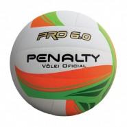 36d3bf3157681 Bola Oficial Vôlei Penalty Pro 6.0 V 521166 1790 Branco Laranja Verde