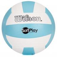 d9558c825c Bola Vôlei Wilson Softplay WTH3501 Azul Branco