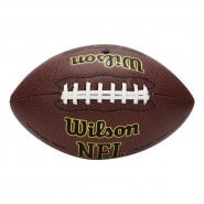 93a0933e89ae5 Bola Wilson Futebol Americano NFL WTF1795X Marrom