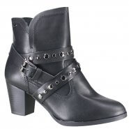 b0198b3284 Bota Ankle Boot Dakota B9911 0001 Preto (Tuart)
