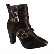 Bota Ankle Boot Only 742375 Café (Milano)