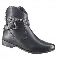472b32cbc7 Bota Ankle Boot Ramarim 18-60102 000004 Preto (Naturale Plus)
