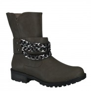 Bota Biker Ankle Boot Via Marte