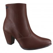 Bota Feminina Ankle Boot Campesí L6024 0003 Brown (Atlantic/Cusco)