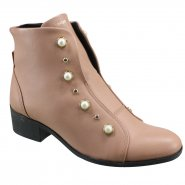 Bota Feminina Coturno Cravo e Canela 136824-5 Antique (Mini Floater)