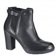 75c3a6959 Bota Feminina Cravo e Canela Ankle Boot 161205-1 Preto (Caprino)