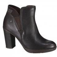 fe6b87e45 Bota Feminina Cravo e Canela Ankle Boot 161201-3 Cafe (Caprino Camurça)