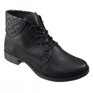 Bota Feminina Dakota Coturno B9893 0009 Preto (Borghese/Kingston)