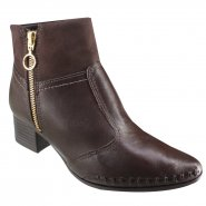 Bota Feminina Ramarim Total Comfort 18-57101 000011 Brown (Naturale Soft/Naturale Plus)