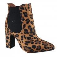 4a67a7fbd Bota Feminina Vizzano Ankle Boot 3068.105 17715 30289 Mutli Camel/Preto  (Camurça Onça Gla