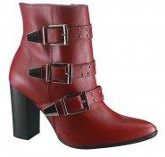 7ef03883b441c Bota Via Marte Ankle Boot 18-6602 Barolo (Napa)