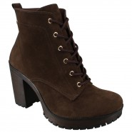 Bota Via Marte Ankle Boot Meia Pata