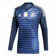 Camisa de Goleiro Adidas Alemanha 2018 BR7831 Azul 8383f82683d39