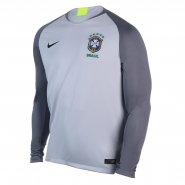 Camisa de Goleiro Masculina Nike Brasil 2018 19 893854-043 Cinza Chumbo e6a7d7ae648eb