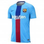 Camisa de Treino Masculina Nike FC Barcelona 894323-482 Azul Vermelho e3f285a53c460