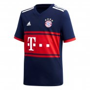 Camisa Infantil Adidas Bayern de Munique 2 AZ7933 Marinho Vermelho 406b82755350e