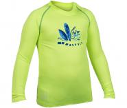 Camisa Infantil Poker Fator de Proteção UV 50+ 04052 Verde Azul f96d64d750814