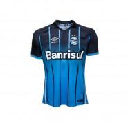 Camisa Junior Umbro Grêmio Oficial III 2016 3G00065 Preto Azul Branco 85dd38dde9cfc