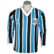 Camisa Masculina Dilva Oldoni Retro Renato Manga Longa G470 Tricolor d0a4ccb7003