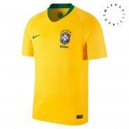 c0d0fb98d460e Camisa Masculina Nike Brasil 2018 CBF Torcedor Home 893856-749 Amarelo Verde