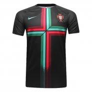 Camisa Masculina Nike Portugal 2018 893360-010 Preto Verde Vermelho a6e6ab2d5adf0
